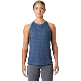 Mountain Hardwear Crater Lake Top sin Mangas Mujer, zinc